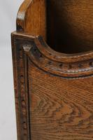 Vintage Oak Newspaper Stand / Canterbury (9 of 13)