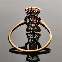Vintage Art Deco Diamond Filigree Ring, 18ct Gold & Platinum (9 of 14)