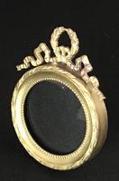 Edwardian Brass Easel Photo Frame (4 of 4)