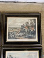 Set of Four 19th Century Hunting Prints (4 of 6)