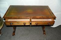 William IV Rosewood Writing Table / Library Table (5 of 6)