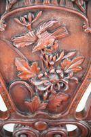 Large Japanese Carved Throne Chair (6 of 12)