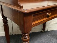 Victorian 2 Drawer Writing Table or Desk (5 of 16)