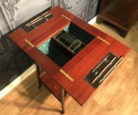 Edwardian Inlaid Mahogany Sewing Box (11 of 11)