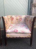 Pair of Antique English Upholstered Chairs (6 of 12)