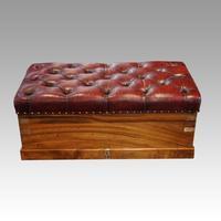 Victorian Camphor Wood Ottoman (5 of 9)