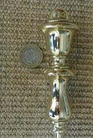 Quality Victorian Brass Fire Irons Companion Set Tongs Poker Shovel Set 18 c.1890 (9 of 9)