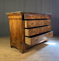 Large Louis Philippe Walnut Commode (10 of 12)