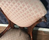 Victorian Burr Walnut & Inlaid Salon Suite (24 of 38)
