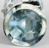 Sowerby / Edward Moore Marbled Slag Glass Gryphon Vase c.1880 (9 of 16)