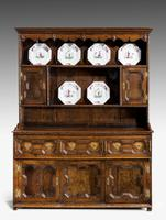 Mid 18th Century Oak Dresser & Rack (2 of 8)