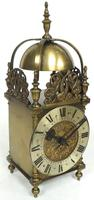 Superb Vintage English 8 Day Lantern Clock - Lever Platform c.1950 Mantel Clock by Rotherham's (7 of 11)