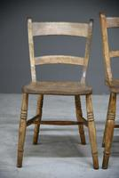 4 Rustic Elm Country Kitchen Chairs (7 of 14)