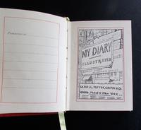 1890 1st Edition My Diary Illustrated by Edmund Evans (2 of 5)