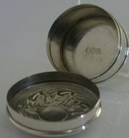 Beautiful Art Nouverau Sterling Silver Box London 1906 English Antique (3 of 6)
