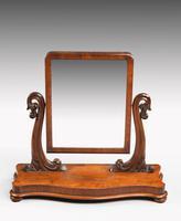 Good Late 19th Century Mahogany Dressing Mirror (2 of 5)
