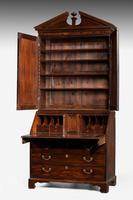 Late 18th Century Mahogany Bureau Bookcase (2 of 5)