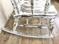 Antique Distressed Painted Rocking Chair (7 of 9)