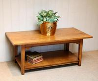 Solid Oak Coffee Table c.1960 (2 of 6)