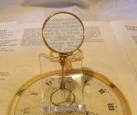 Victorian Pocket Watch Chain Monocle Magnifying Fob 1880s 12ct Rose Gold Filled (6 of 11)