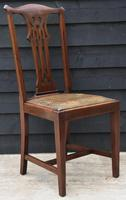 Good Quality Set of Eight Georgian Style Mahogany Dining Chairs c.1910 (7 of 12)