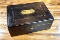 Leather Desk Box c.1890 (7 of 10)