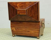 Antique Rosewood Tea Caddy (5 of 15)