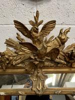 Large 19th Century French Gilt Mirror (4 of 8)