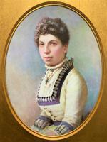 Fine Quality 19th Century Antique English Porcelain Plaque Portrait Painting c.1870 (2 of 11)