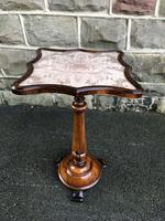 Antique Rosewood Wine Table