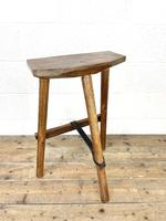 Pair of Rustic Wooden Cutler's Stools (10 of 10)