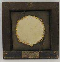 Miniature Portrait Lady of the Court 1 0f 2 Matching Oak Frames (2 of 3)
