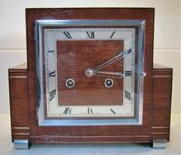 Fabulous and Rare 'Art Deco' Striking Mantle Clock from 1936 by Perivale 'Coronet' of London (8 of 8)