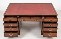 Mahogany Partners Desk with Georgian Influences (3 of 10)