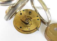 Antique Silver Ehrhardt Pocket Watch, 1919 (4 of 6)