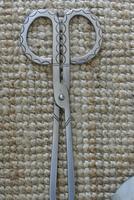 Archibald Carne Wrought Steel Companion Set Fire Irons c.1930 Cornish Truro (6 of 11)