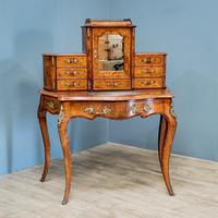 Victorian Marquetry Desk (3 of 8)