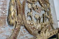 Elegant 19th Century French Original Painted Trumeau Mirror (9 of 13)