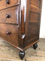 Antique Welsh Oak & Mahogany Chest of Drawers (11 of 15)