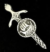 Silver Iona Brooch by John Hart (3 of 4)
