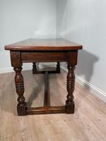 19th Century Oak Refectory Table (3 of 6)