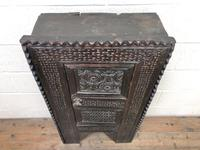 Unusual Antique Carved Side Cupboard (2 of 11)