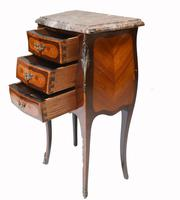 Pair of French Bedside Chests Antique Empire Nightstands (7 of 11)