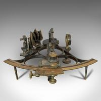 Antique Maritime Sextant, Brass, Admiralty, Naval, Instrument, Victorian c.1900 (12 of 12)