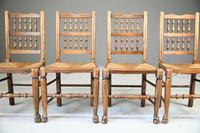 4 Country Spindle Back & Rush Chairs (4 of 11)