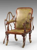 19th Century Mahogany Framed Carrying Chair (4 of 10)