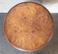 Burr Walnut Wine / Tripod Table Iain James Furniture (3 of 7)