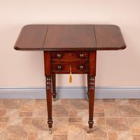 19th Century Mahogany Pembroke Work Table (10 of 13)