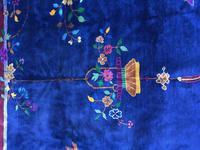 Antique Chinese Art Deco Carpet (9 of 14)