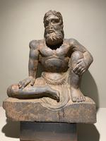 Fine Gandharan Crouching Atlas Figure (2nd-3rd Century AD) (4 of 4)